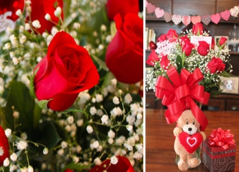 Brighten someone's day with Red Roses, Box of Chocolates, Teddy Bears or even balloons, starting from OMR 10 choose from 3 different options Below exclusively via alatoolmuscat.com!