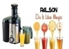 Great way to make a glass of Fresh Fruit Juice with Palson MULTI -PRO Fruit juicer for OMR 17.5. Save via alatoolmuscat.com!(Original Price OMR 34)