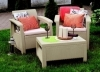 Allibert Outdoor Furniture - Corfu Weekend Set for a special price of OMR 85 with Free Delivery & Installation + OMR 5 Cash Back exclusively via alatoolmuscat.com! (Original Value: OMR 150)