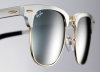 New! Ray-Ban ClubMaster Aluminum Silver - Grey Frame Sunglasses for OMR 60 only. Get an exclusive discount via alatoolmuscat.com!