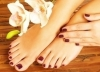 Long Lasting Shellac Manicure Pedicure + Regular Hair Treatment for OMR 16 at Bright and Elegant Beauty Centre and save over 50% exclusively via alatoolmuscat.com! (Original Price: OMR 32)