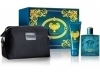 Versace Eros gift set With Pouch for men includes 100ml perfume + 100ml shower gel for OMR 25 exclusively via alatoolmuscat.com! (For Him)
