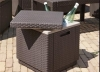 Allibert Outdoor Furniture - Ice Cube cool box for OMR 19 instead of OMR 30. Available in Brown and Graphite exclusively via alatoolmuscat.com !
