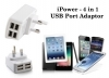 4 Power Port USB adaptor for OMR 5.5 + Free Delivery, compatible with all Smart devices – Mobile Phones & Tablets exclusively via alatoolmuscat.com!