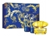 A new fragrance from the house of Versace: Versace Yellow Diamond Intense 3 pc set for OMR  20 includes  50 ml perfume + 50 ml body lotion + 50ml shower gel exclusively via alatoolmuscat.com! (Original Price OMR 45)